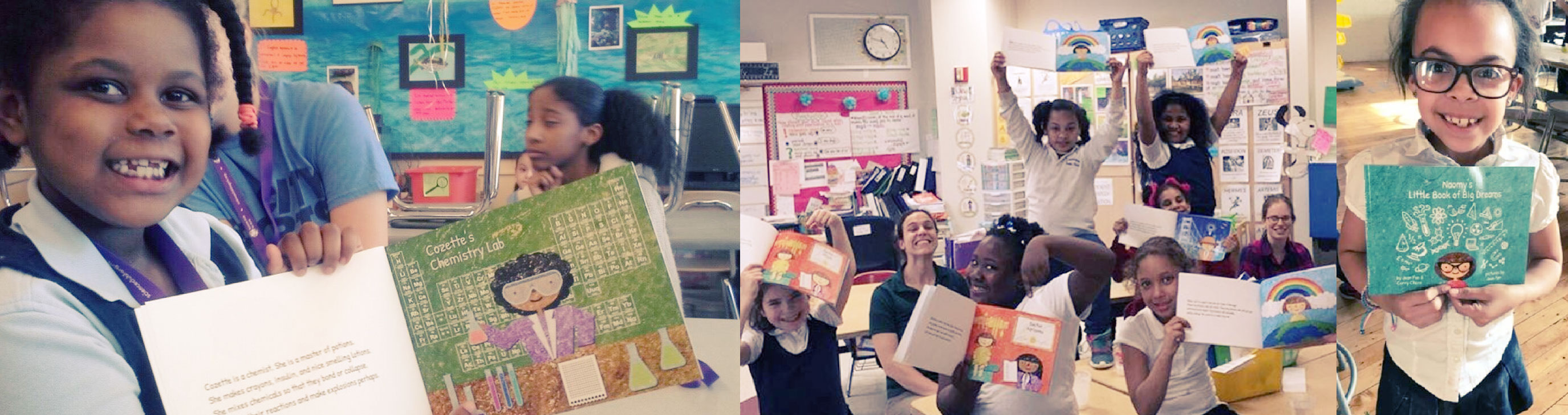CuSTEMized and SCFG provide over 100 girls with their own personalized storybook every year!